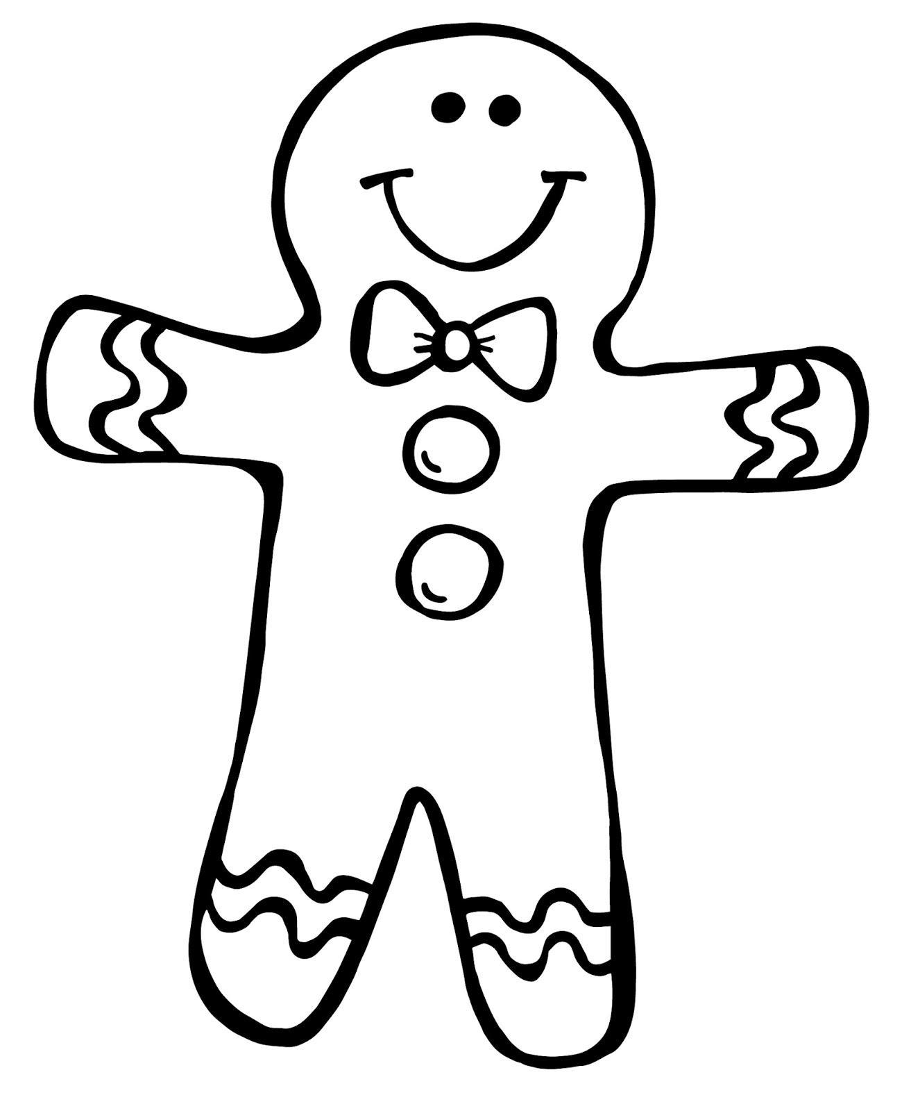 Gingerbread Man Clipart Gclipart