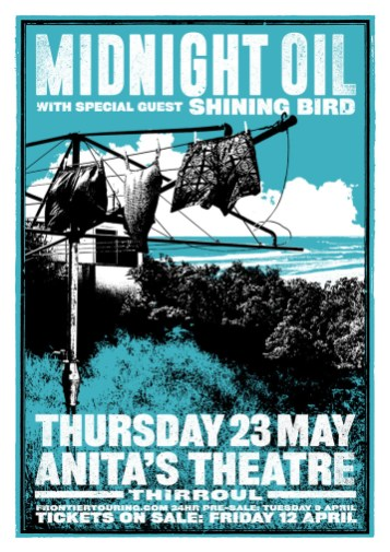 Midnight Oil Tour Poster 1