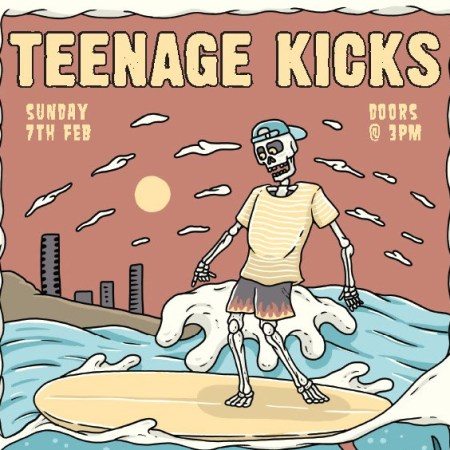 Teenage Kicks Event Poster