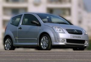 Spécifications techniques Citroën C2 14 VTR (2003