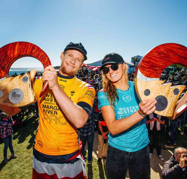Lakey Peterson and John John Florence Win Margaret River Pro