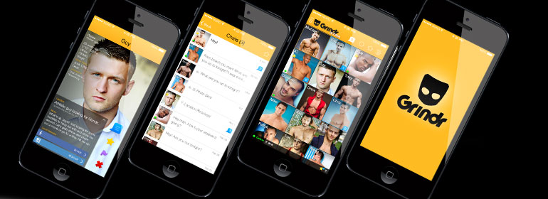 What types of men use dating apps