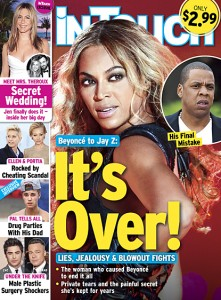 InTouch magazine's cover adds fuel to the fire