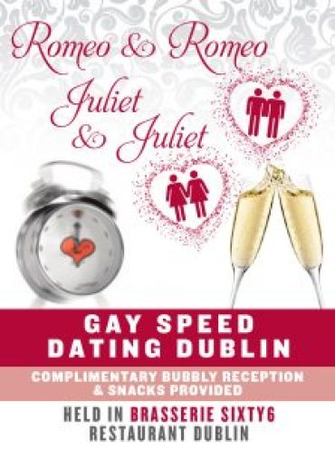 gay speed-dating poster