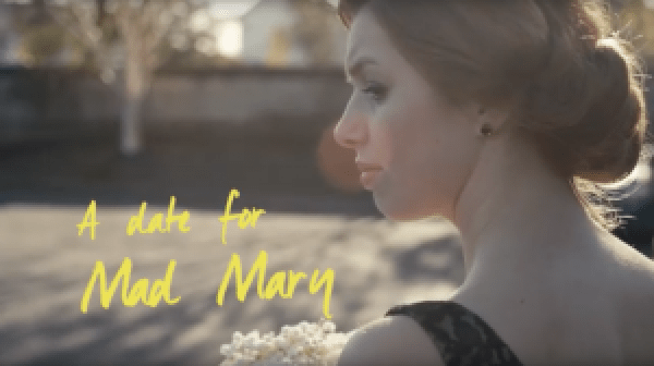 A date for mad mary trailer still with the lead actress looking to the left