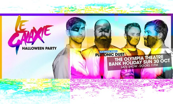 Le Galaxie pictured who are having one of the Halloween Parties over the bank holiday weekend