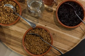 Granola and jam from Two Boys Brew café