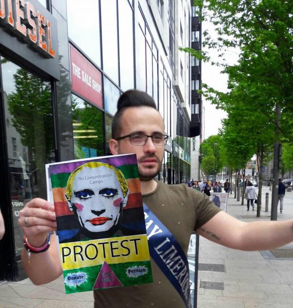 Dr Christian Moretti who is the current Mr Gay Limerick will be at Mr & Ms Gay Limerick event by Limerick Pride