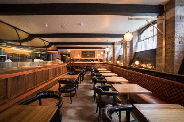 The Tomahawk steakhouse seats