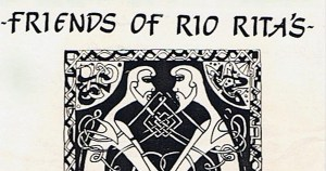 The artwork for the staged reading of Friends of Rio Rita's that is being directed by Philip McMahon, RIOT director