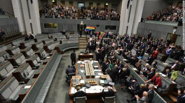 Australian Parliament Passes Marriage Equality Bill • GCN