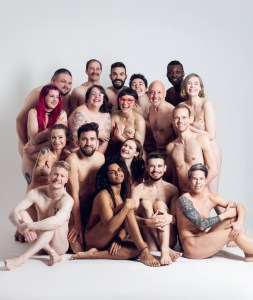 GCN cover for health and wellbeing. 17 of our users pose nude
