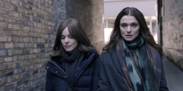 Rachel McAdams and Rachel Weisz in Disobedience (2017)