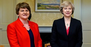Teresa May and Arlene Foster