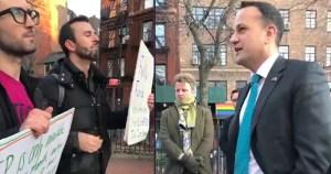 ACT UP New York and Varadkar meet at Stonewall