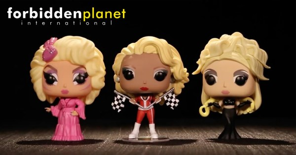 RuPaul's Drag Race Pop Vinyls