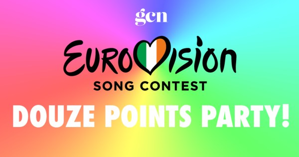 Poster for GCN's Eurovison Douze Points Party