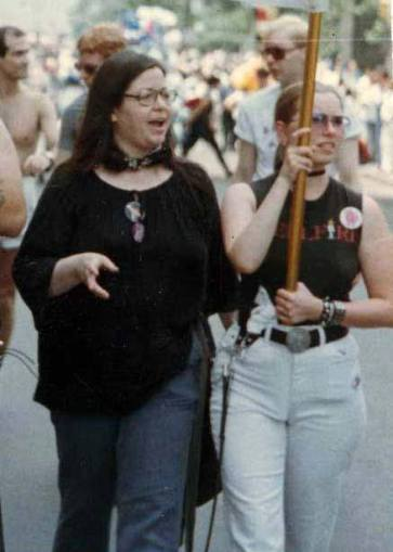 Brenda Howard at Pride