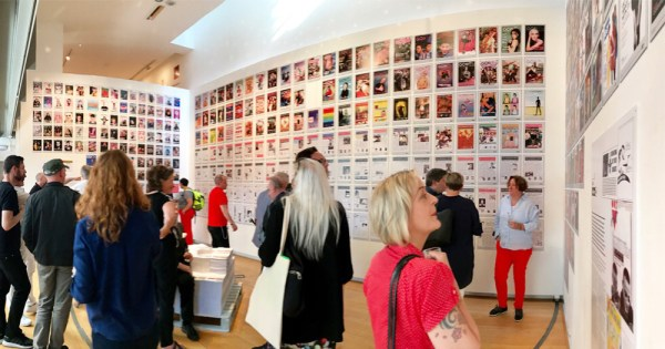 The launch of the Proof exhibition