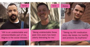Daniel, Tonie and Robbie tell their HIV Ireland story