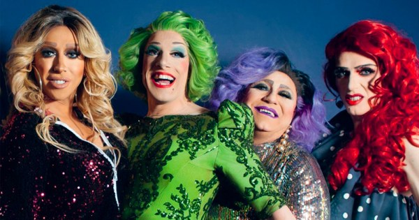 Veda and the witches, some of our favourite Irish drag queens