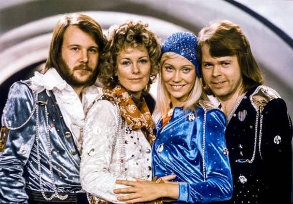 ABBA, 35 years ago