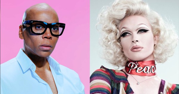 RuPaul and Pearl pictured