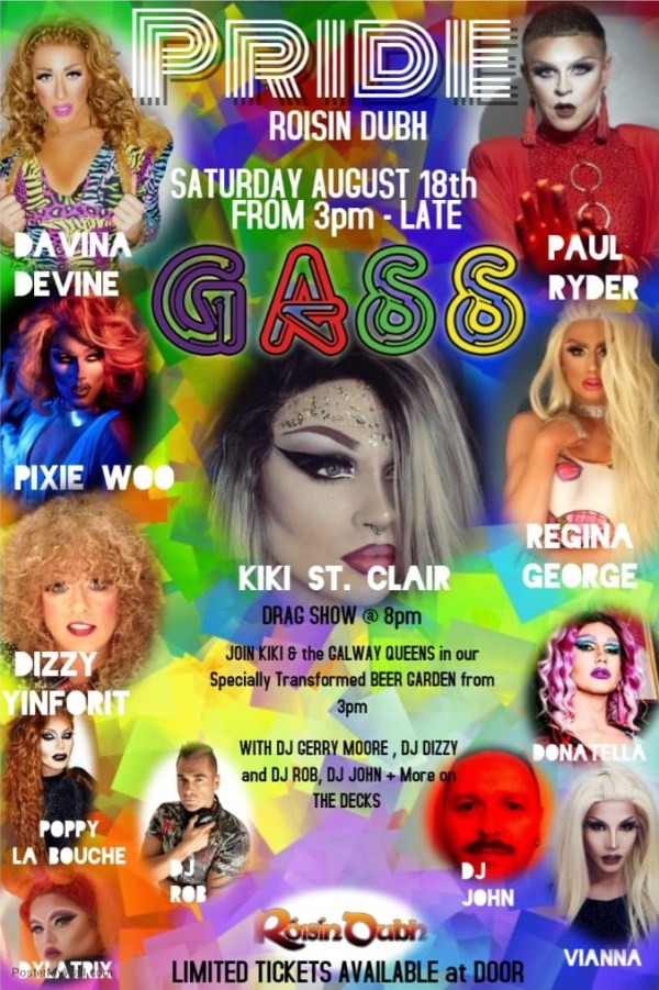 Club GASS @ Galway Pride