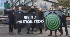 ACT UP Dublin take over Ireland twitter