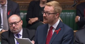 MP Lloyd Russell-Moyle in the House of Commons,