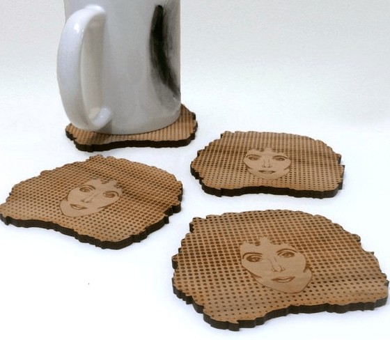 Cher coaster set