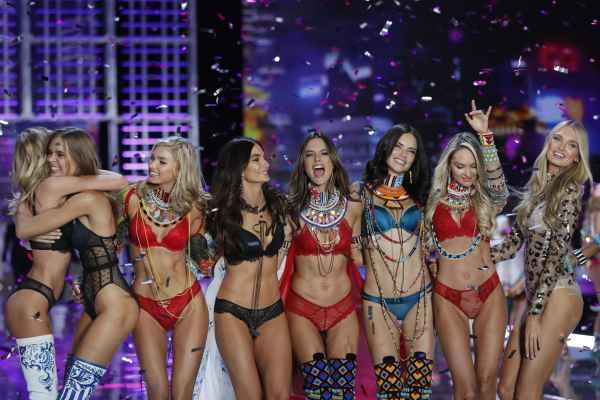 Victoria's Secret models at the 2018 fashion show
