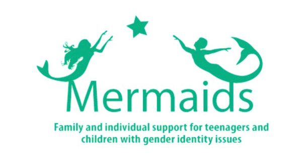 Mermaids, a transgender charity in the UK, poster