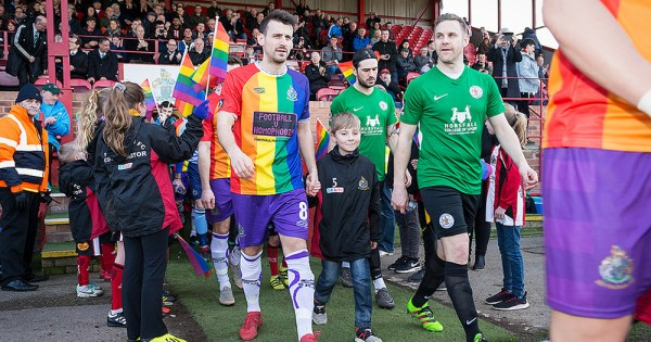English Club Praised For LGBT+ Initiative Rainbow Kit