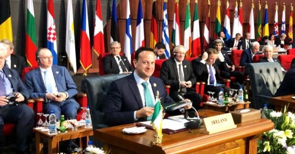 Leo Varadkar at the League of Arab Nations