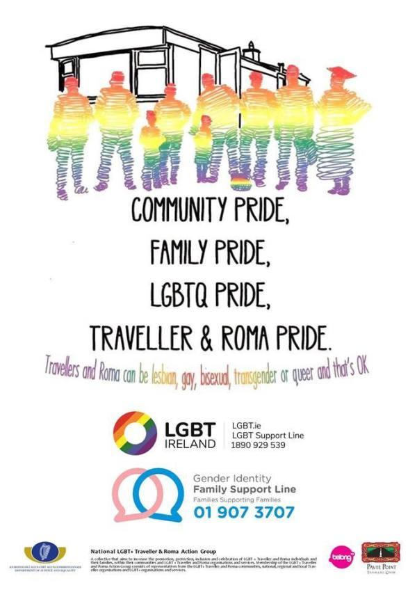 Poster for the training for Traveller Pride