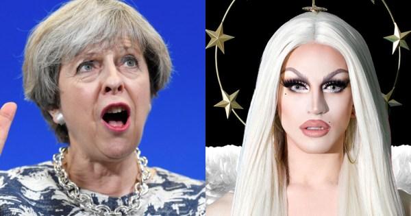 Theresa May and Aquaria