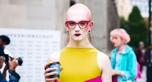 Jamie Windust, non-binary model