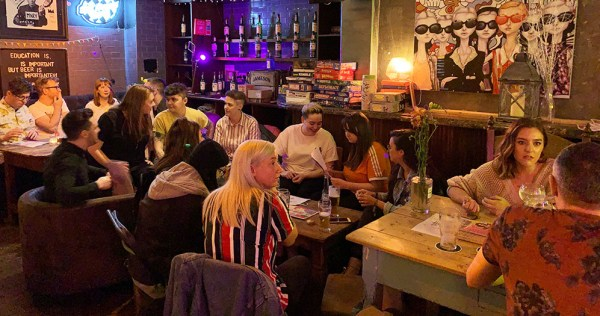 GCN's My Big Fat Gay Pub quiz filling a bar with quiz takers