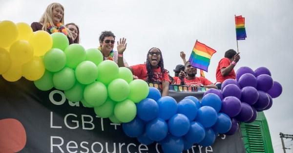 Dublin Pride Parade Outhouse