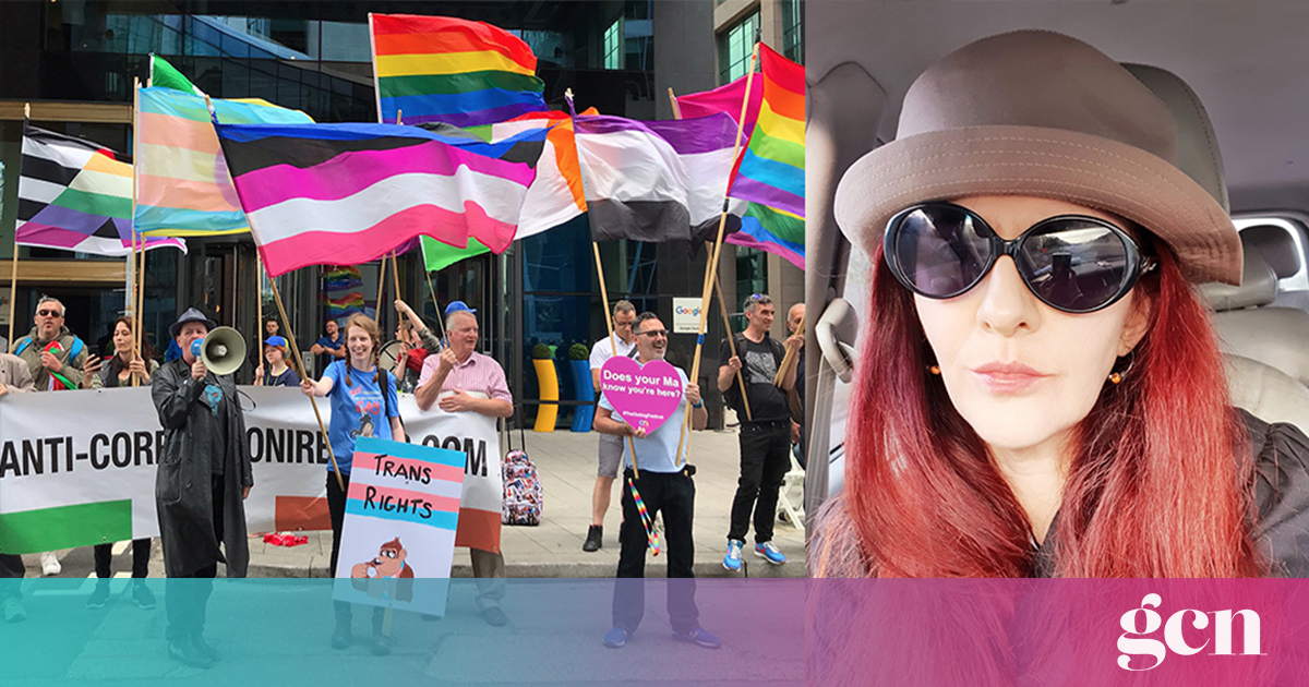 Speakers Unicorner founder on counter-protesting Gemma O'Doherty and