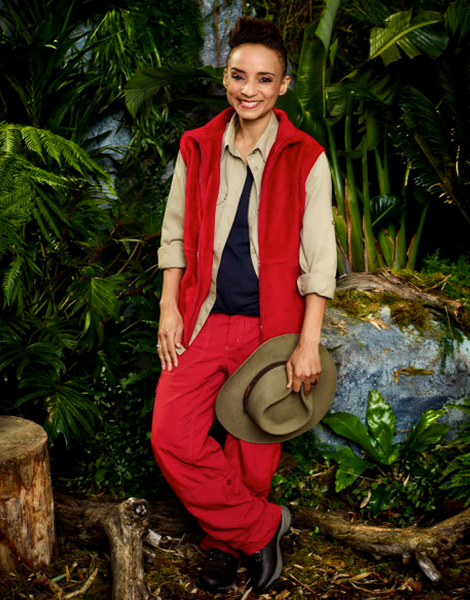 """Adele Roberts appearing on ITV's """"I'm A Celebrity... Get Me Out Of Here!"""""""