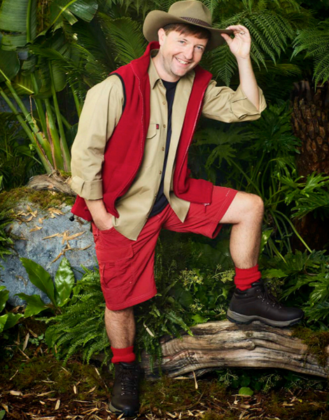 """Andrew Maxwell appearing on ITV's """"I'm A Celebrity... Get Me Out Of Here!"""""""