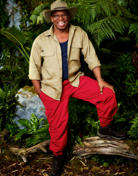 "Ian Wright MBE appearing on ITV's ""I'm A Celebrity... Get Me Out Of Here!"""