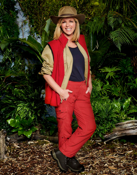 """Kate Garraway appearing on ITV's """"I'm A Celebrity... Get Me Out Of Here!"""""""
