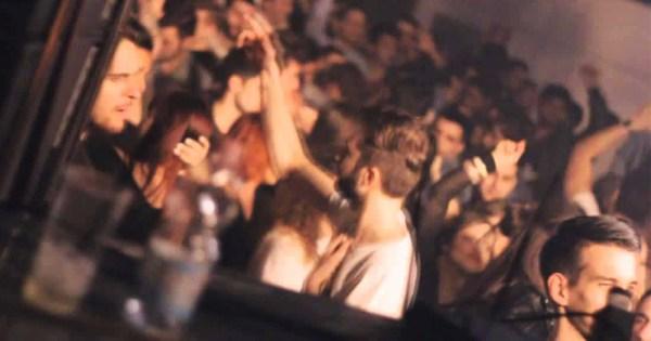 People dancing in nightclub during brutal attack on gay man