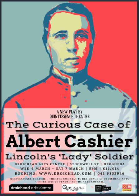 An illustration of Irish trans soldier Albert Cashier