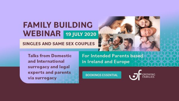 webinar poster from Growing Families