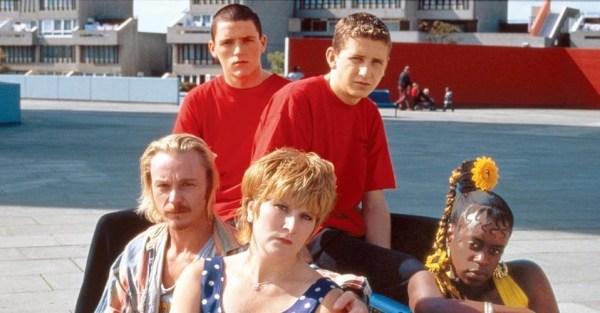a rag tag bunch sitting together