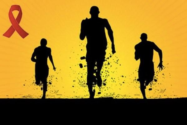 world aids day run